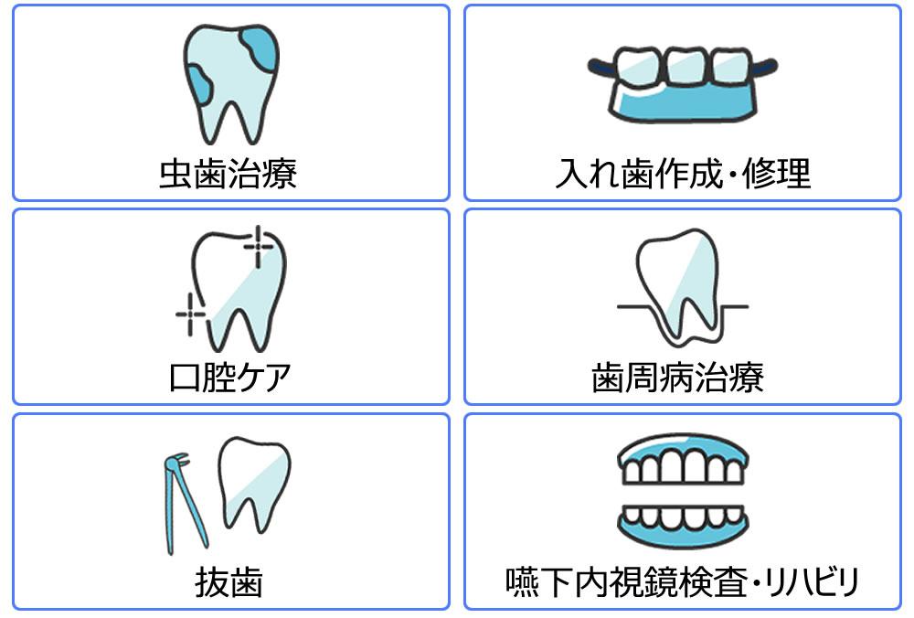 訪問歯科で出来ること